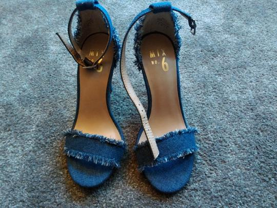 Mix six Blue Sandals Image 8