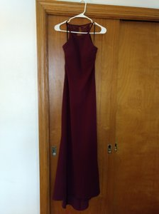 BHLDN Bordeaux Foundry Formal Bridesmaid/Mob Dress Size 6 (S)