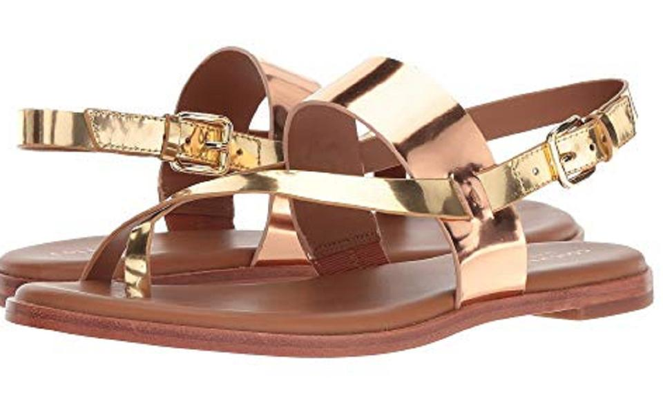 5f02b048d9ff Cole Haan Rose Gold Anica Sandals Size US 7.5 Regular (M