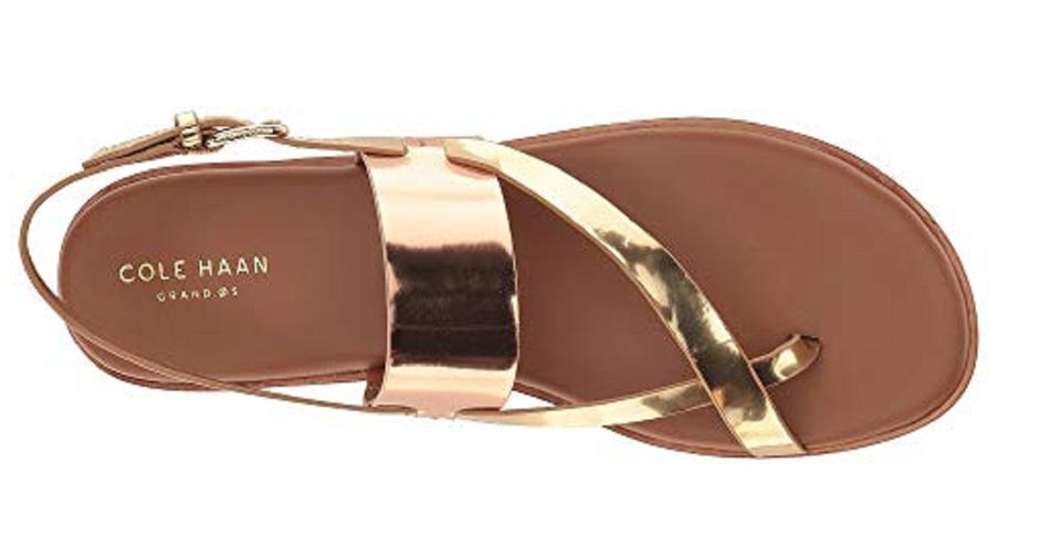 d5b506dd1b3 Cole Haan Rose Gold Anica Sandals Size US 7.5 Regular (M