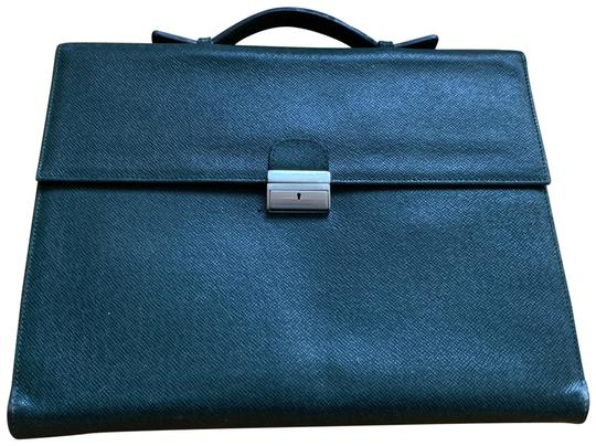 Preload https://img-static.tradesy.com/item/24372924/briefcase-dark-green-grained-calfskin-leather-laptop-bag-0-1-540-540.jpg