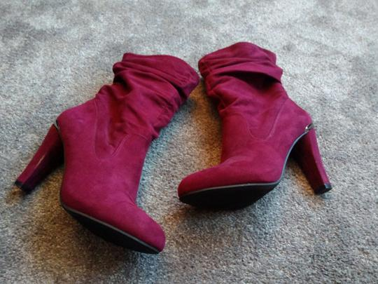 Unknown Burgundy Boots Image 4