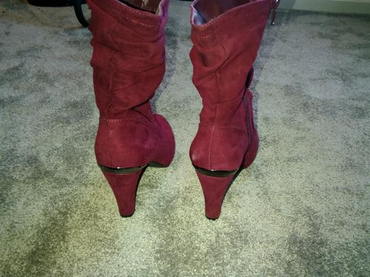 Unknown Burgundy Boots Image 6