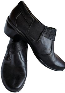 Hush Puppies Leather Comfortable Black Mules