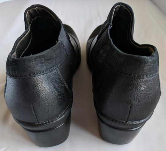 Hush Puppies Leather Comfortable Black Mules Image 5