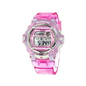 Baby-G BG169R-4 Sports Kids Pink Resin Band With Digital Dial Genuine Watch