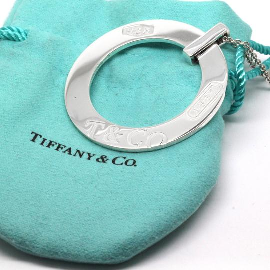 Tiffany & Co. Tiffany Sterling Silver Circle Pendant Necklace Image 1