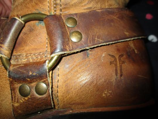 Frye Leather Riding Harness 001 tan/brown Boots Image 10