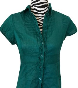 The Limited Button Down Shirt green