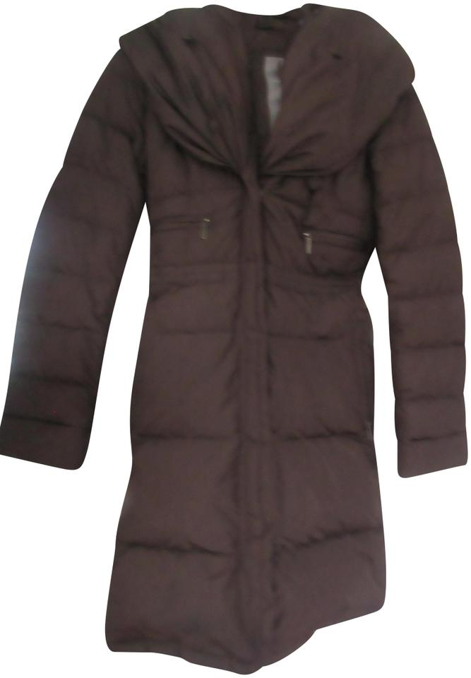 f17c53d5dbca Add Down Brown Long Coat Size 2 (XS) - Tradesy