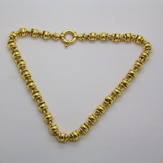 URBANO Women 18K Yellow Gold Chain Link Necklace Image 1
