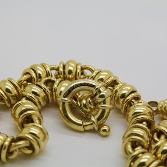 URBANO Women 18K Yellow Gold Chain Link Necklace Image 4