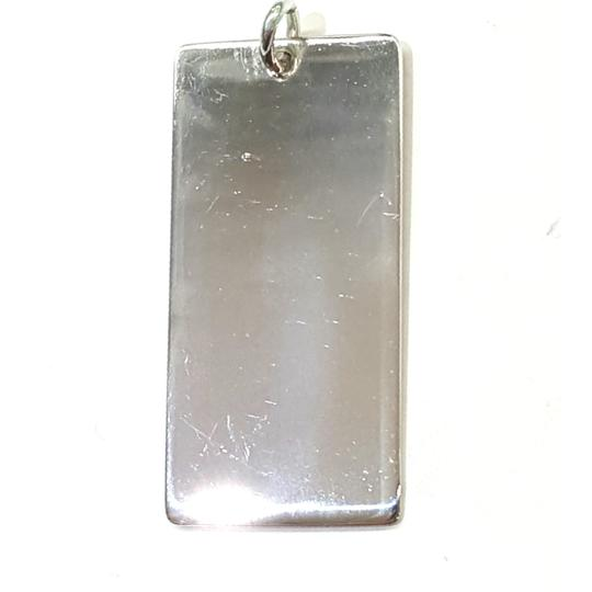 Tiffany & Co. Tiffany & Co. Sterling Silver Engravable Rectangle Charm Image 1