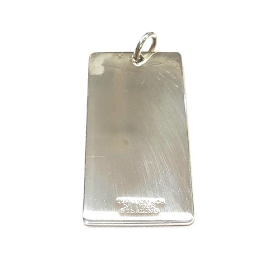 Tiffany & Co. Tiffany & Co. Sterling Silver Engravable Rectangle Charm Image 4