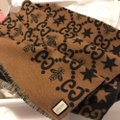 Gucci Bees and stars GG jacquard scarf Image 3