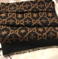 Gucci Bees and stars GG jacquard scarf Image 4
