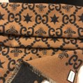 Gucci Bees and stars GG jacquard scarf Image 5
