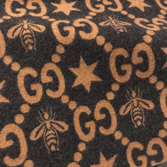 Gucci Bees and stars GG jacquard scarf Image 7