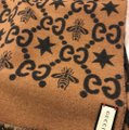 Gucci Bees and stars GG jacquard scarf Image 8