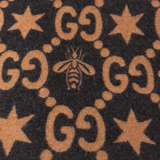 Gucci Bees and stars GG jacquard scarf Image 9