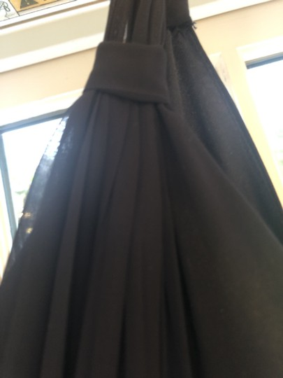 Joanna August Tangled Up In Blue Chiffon Cindy Long Traditional Bridesmaid/Mob Dress Size 4 (S) Image 3