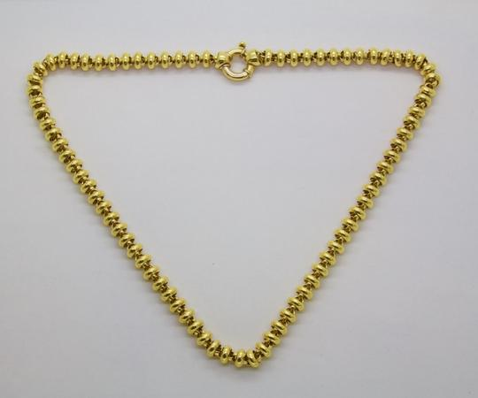 Urbano Women 18K Yellow Gold Chain Link Necklace Image 3