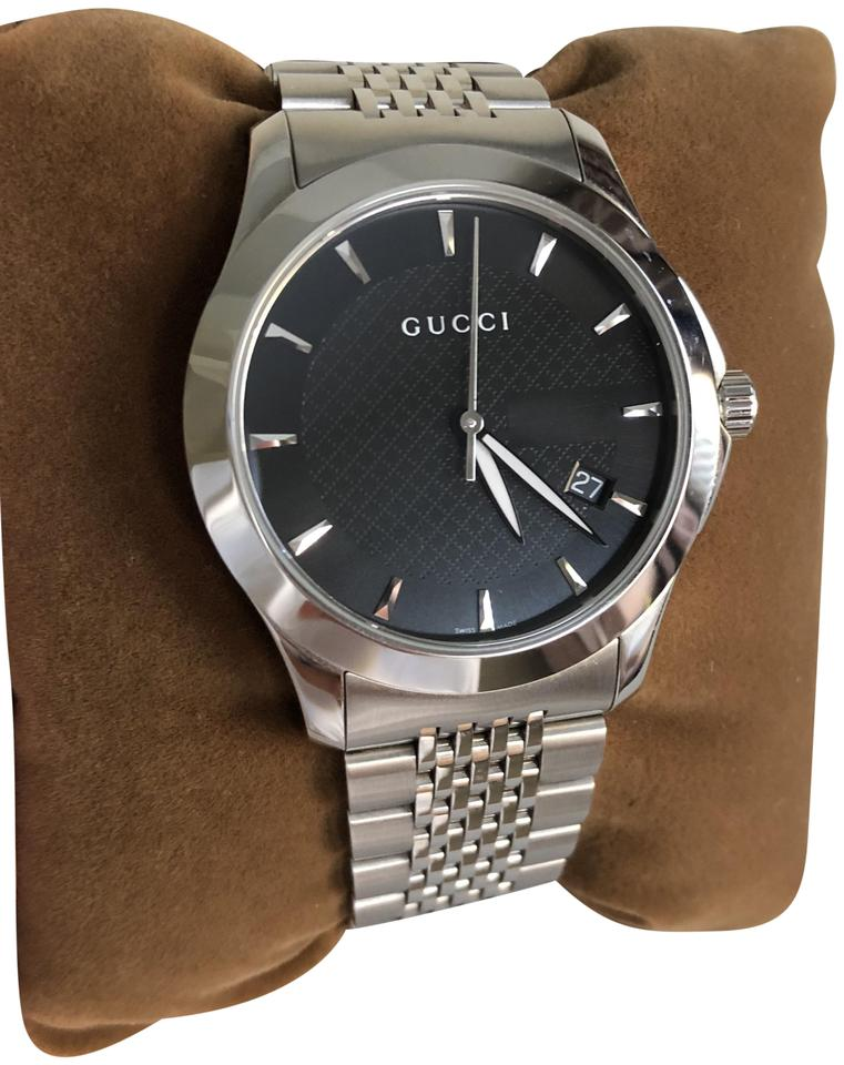 d36586b90fb Gucci Silver Ya126402 G Timeless Men s Watch - Tradesy