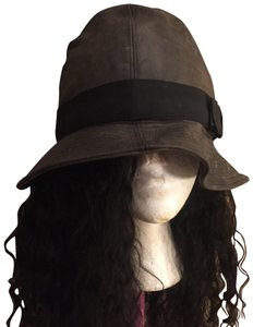 Dior Distressed Vintage Dior Leather Hat