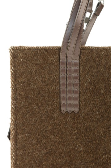 Chanel Rare Vintage Country Tote in Brown Image 11