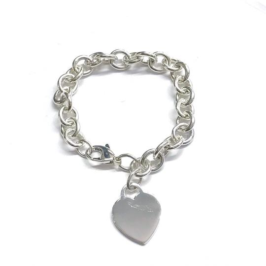 Tiffany & Co. GORGEOUS!!! Tiffany & Co. Heart Tag Bracelet Sterling Silver 7.5