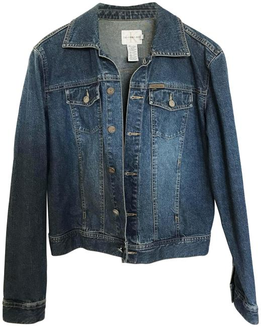 Item - Blue Denim Jacket Size 6 (S)