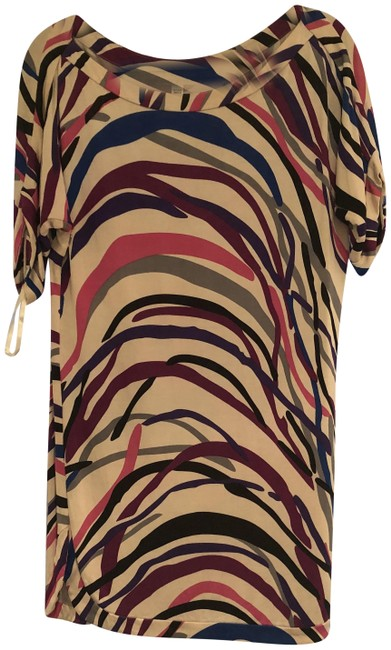 Diane von Furstenberg Dvf Designer Collection Animal Print Vintage Dress Image 2