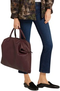 Bottega Veneta burgundy Travel Bag