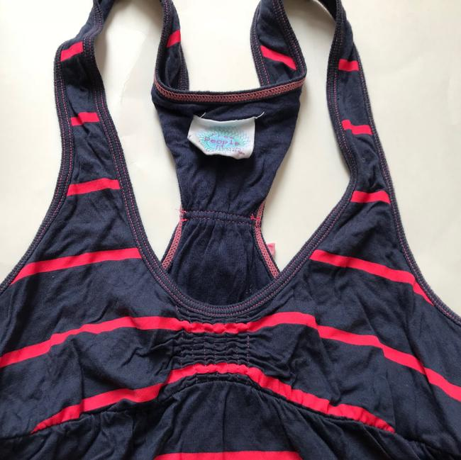 Free People Top blue, red Image 1