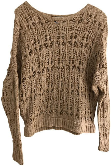 Preload https://img-static.tradesy.com/item/24373636/elizabeth-and-james-lace-pink-champagne-sweater-0-1-650-650.jpg