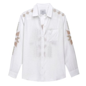 Rails Button Down Shirt White