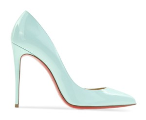 f6d025d6e92e Christian Louboutin blue Pumps. Christian Louboutin Blue Patent Leather  Pigalle Follies Pumps Size EU ...