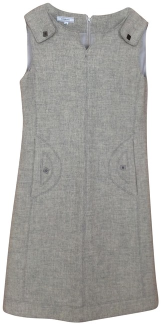 Preload https://img-static.tradesy.com/item/24373715/light-grey-wool-mid-length-workoffice-dress-size-10-m-0-1-650-650.jpg