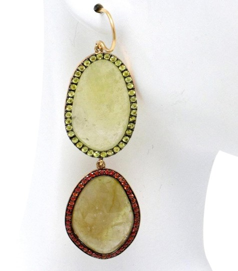 Preload https://img-static.tradesy.com/item/24373750/18k-rose-gold-elliptical-sapphire-6419-ct-earrings-0-1-540-540.jpg