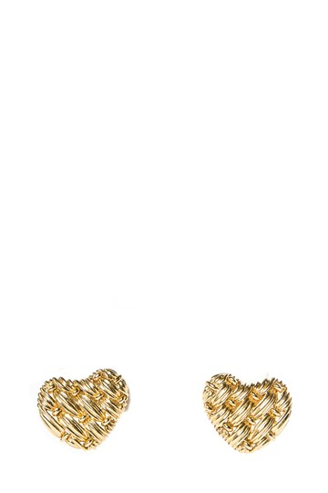Preload https://img-static.tradesy.com/item/24373767/tiffany-and-co-gold-co18k-yellow-woven-heart-earrings-0-0-540-540.jpg