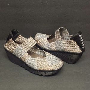 Bernie Mev Copper and Pewter Wedges