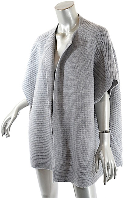 Preload https://img-static.tradesy.com/item/24373815/michael-michael-kors-grey-by-heather-cashmere-sweater-cardigan-size-14-l-0-1-650-650.jpg