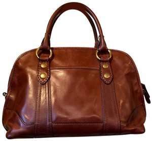Frye Leather Satchel in Brown