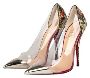 Christian Louboutin Stiletto Red Bottoms Multicolored Pumps