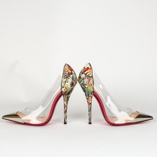 Christian Louboutin Stiletto Red Bottoms Multicolored Pumps Image 1