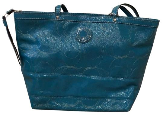 Preload https://img-static.tradesy.com/item/24373896/coach-monogrammed-mermaid-patent-leather-hobo-bag-0-1-540-540.jpg
