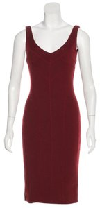 Dolce&Gabbana short dress maroon on Tradesy