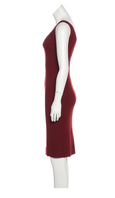 Dolce&Gabbana short dress maroon on Tradesy Image 1