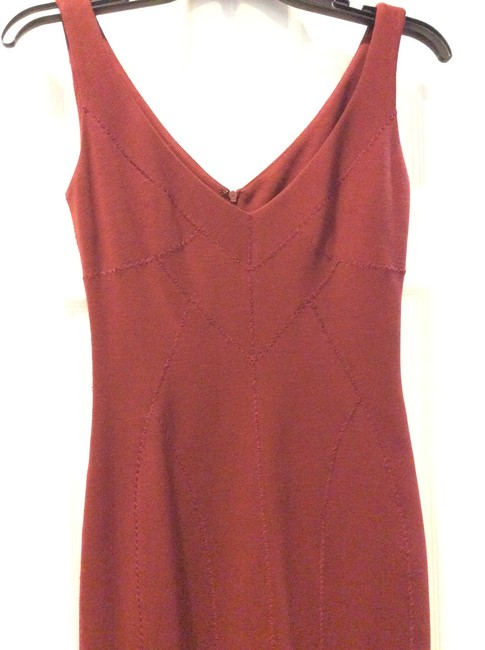 Dolce&Gabbana short dress maroon on Tradesy Image 4