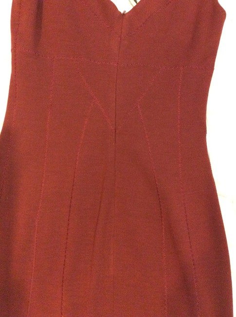 Dolce&Gabbana short dress maroon on Tradesy Image 7